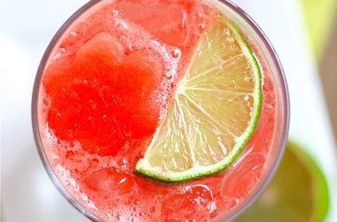 Sparkling Watermelon Limeade | limeade recipes | Pinterest