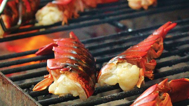 grilled-maine-lobster-tails-640 | Summer | Pinterest