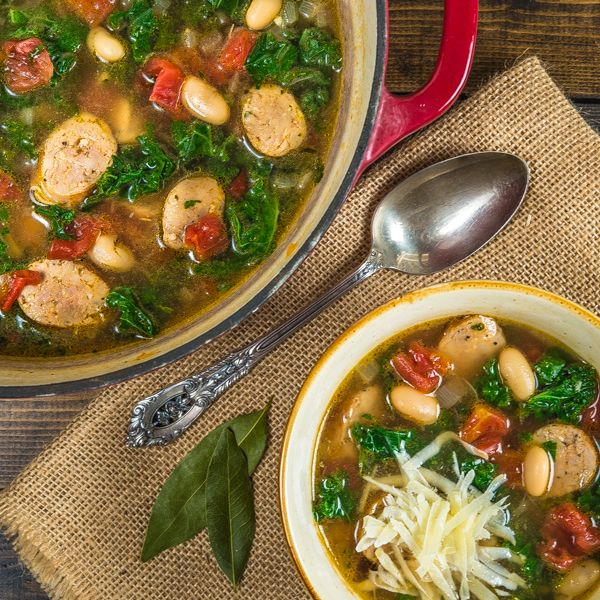 ... Sausage White Bean and Kale Soup - ditch or limit the white beans