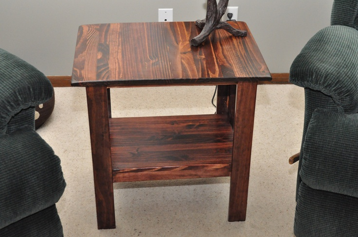 Building end tables | Coffee Table | End Table | TV Stand