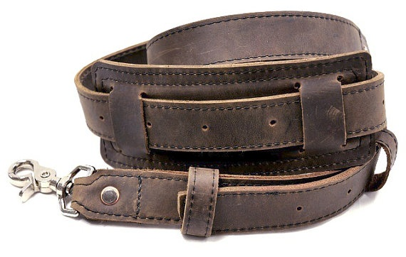 Shoulder Strap  Brown  Hand made in the USA by CopperRiverBags, $68.95