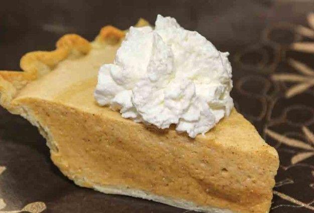 Pumpkin Chiffon Pie Recipe — Dishmaps