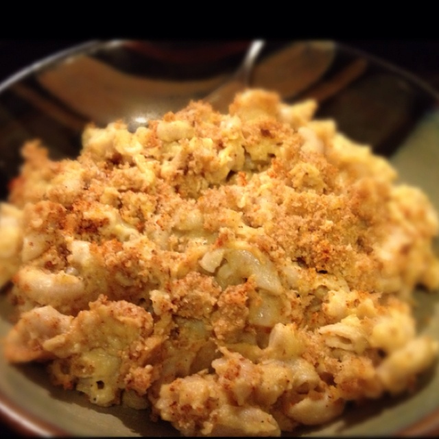 Homemade vegan mac & cheese. Veggie based recipe from Veg Times http ...