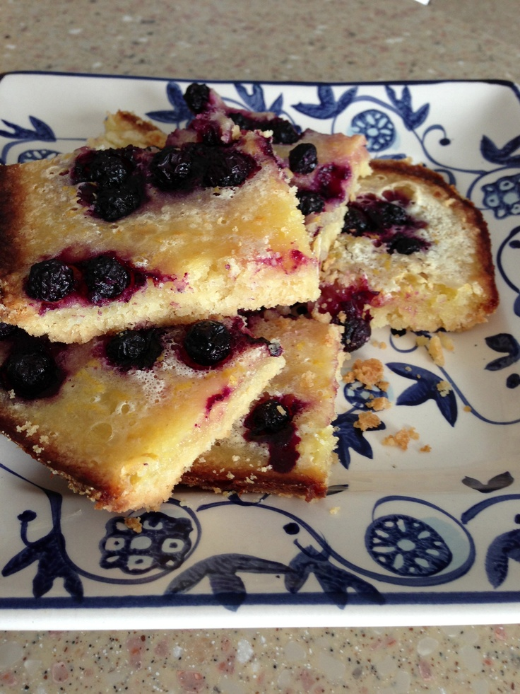 lemon blueberry bars | Sweet Goodies & Frozen Treats | Pinterest
