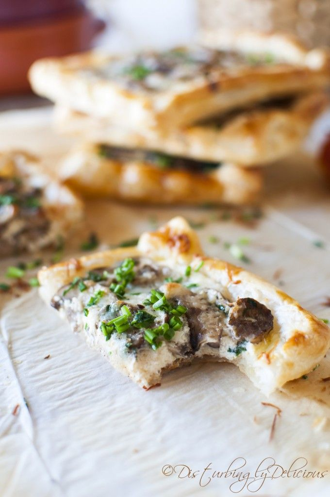 Mushroom Tart | Recipes to Try | Pinterest
