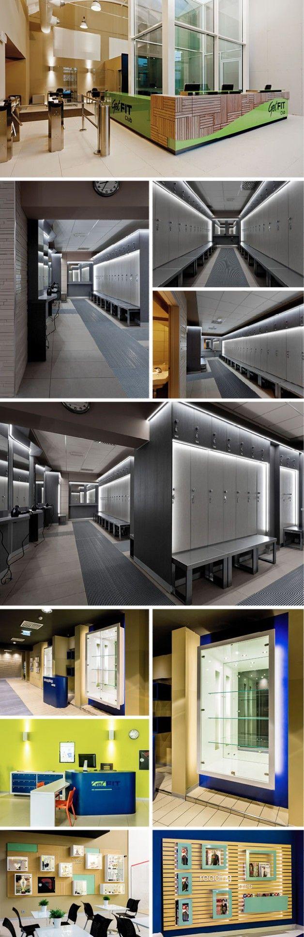 Modern fitness design gym architecture sports for Modern gym design ideas