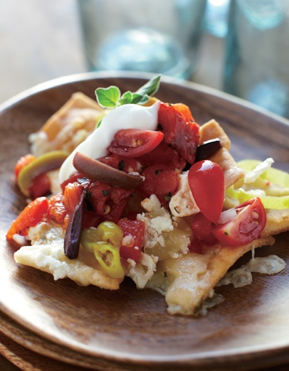 Greek Nachos | Delizioso | Pinterest