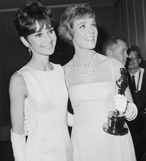 Love these two! Audrey Hepburn and Julie Andrews- the two Eliza Doolittles:-)