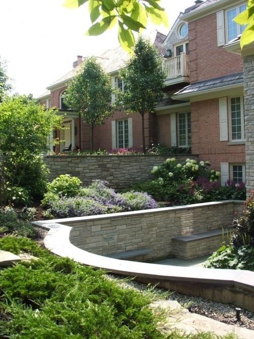 Tiered Backyard Pictures : Tiered garden  Landscape ideas  Pinterest