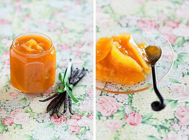 Mango, Peach and Vanilla Jam by laperla2009, via Flickr