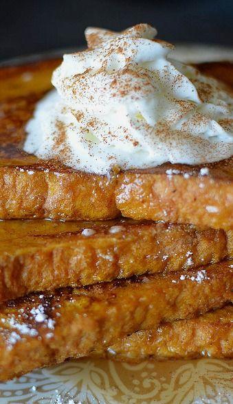 Pumpkin Pie French Toast | Recipe