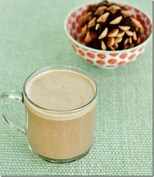 raw, vegan chai hot chocolate. | yum. | Pinterest