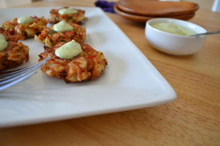 Gluten Free Crab Cakes with Chive Aioli | Food - Quinoa and Gluten fr ...