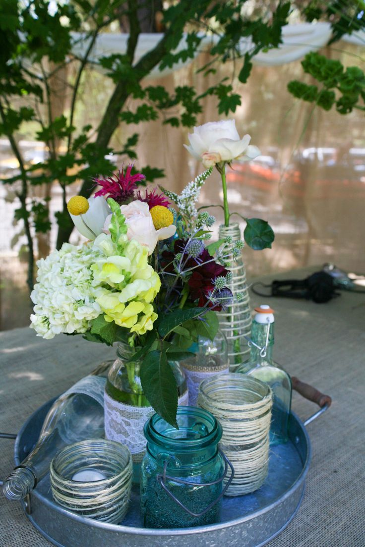 Pinterest discover and save creative ideas - Stemmed mason jars ...