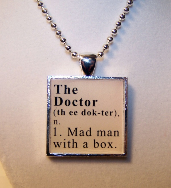 Doctor Who Dictionary Definition Pendant | The Doctor | Pinterest