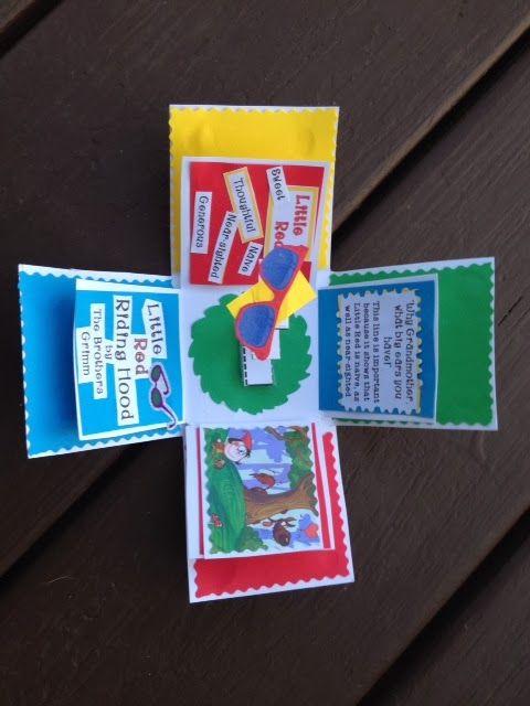fun book report craftivity | teaching | Pinterest