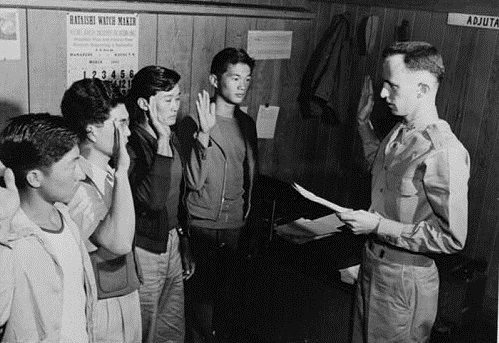a history of japanese american loyalty Excerpts from confinement and ethnicity: an overview of world war ii japanese american relocation sites by j burton, m farrell, f lord, and r lord on december 7, 1941, the united states entered world war ii when japan attacked the us naval base at pearl harbor at that time, nearly 113,000.