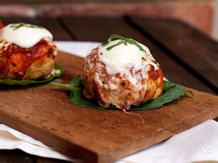 Chicken Meatballs, I go and make these Chicken Parmesan Meatballs ...
