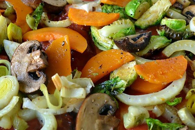 roasted winter vegetable lasagna | Ca C'est Bon | Pinterest