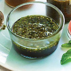 Pomegranate Molasses and Mint Marinade | MyRecipes.com | Ingredients ...