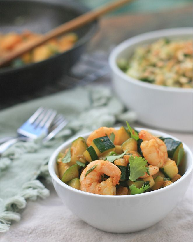 Shrimp Curry With Nigella And Coriander Recipe — Dishmaps