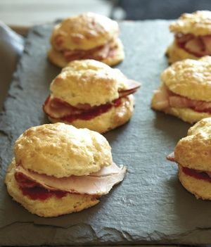 Ham and Biscuit Sliders with Hot Pepper Jam from Cooking Off the Clock ...