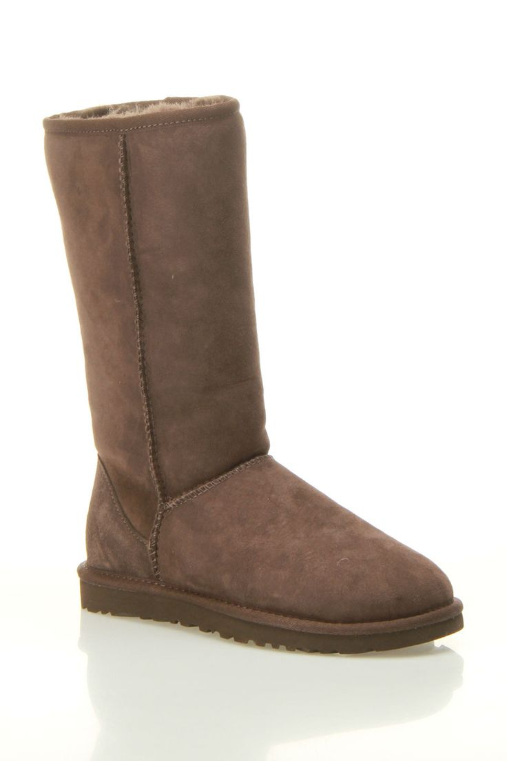 Ugg ladies classic tall boot in chocolate beyond the rack