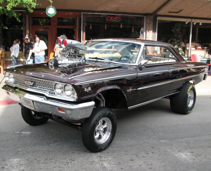 Muscle Cars Old School Amp Gassers Pinterest
