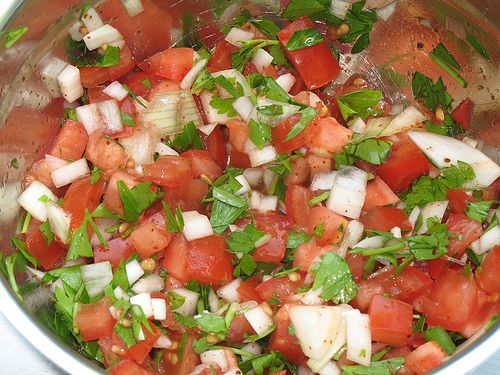 Salsa Fresca | Occasions-Savory Food | Pinterest
