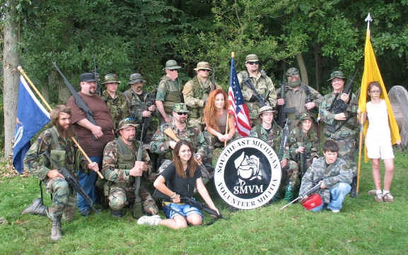 how to join the michigan militia