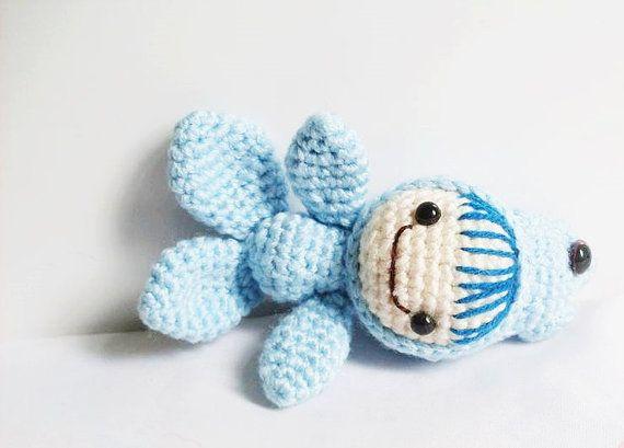 Crochet Zodiac Patterns : AMIGURUMI PATTERN : Pisces - The Cutiest Signs of Zodiac Amigurumi Co ...