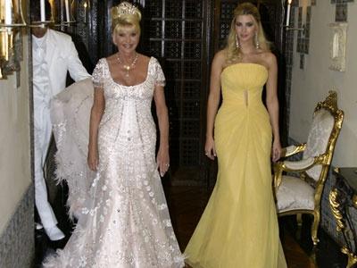 carpet wedding ivana trump and rossano rubicondi red carpet wedding