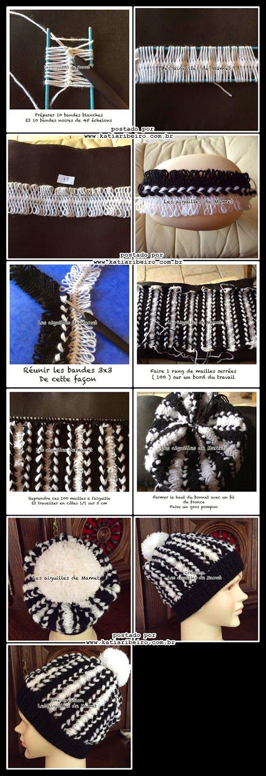 Вязание на вилке вязание палантин