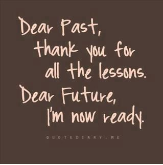 bye past, welcome future