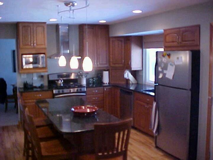 suburban denver cherry kitchen kitchens pinterest