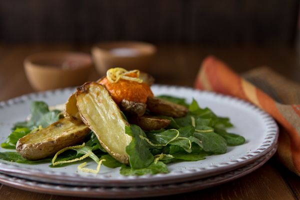 Potato Lover's Month with Idaho Potatoes: Romesco Fingerling Potato ...