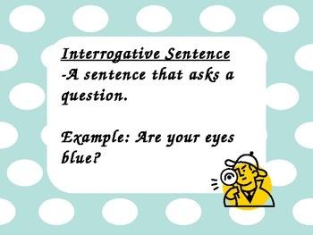 Sentence Types: declarative, interrogative, exclamatory, and imperati ...