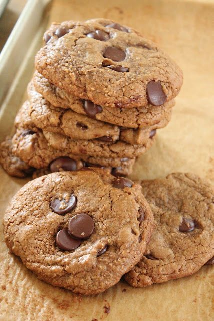 Espresso chocolate chip cookies | Desserts / Sweet Breakfastes | Pint ...