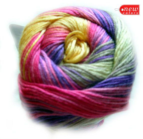 Alize Bamboo Fine Yarn Hypoallergenic Yarn Batik by HandyFamily, €5 ...