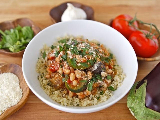 Italian Vegetable Quinoa Bowls | Recipe