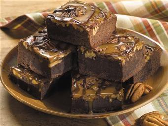 Turtle Fudge Brownies