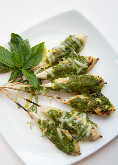 Grilled Chicken Tenders with Pesto recipe for Smart Chicken® at ...