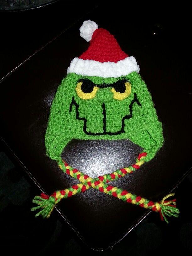 Baby Grinch hat