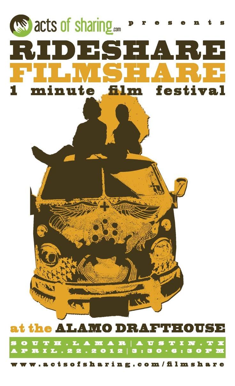 2012, April 22 // RideShare FilmShare at Alamo Drafthouse ...