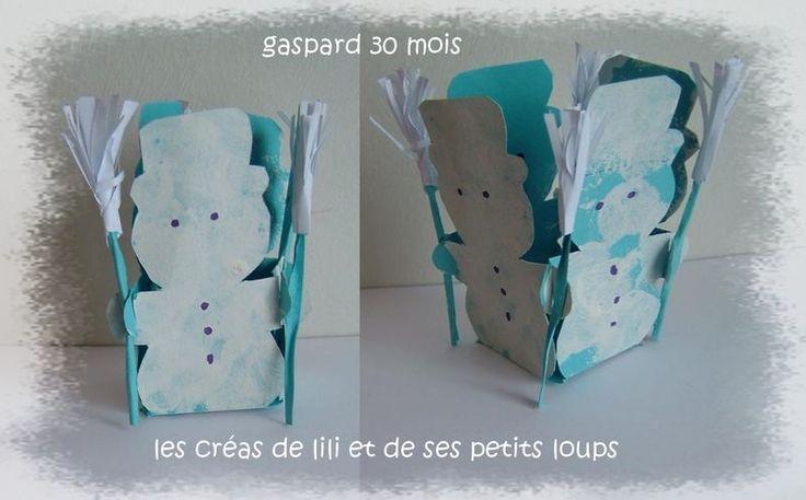 Boite bonhomme de neige winter pinterest - Pinterest bonhomme de neige ...