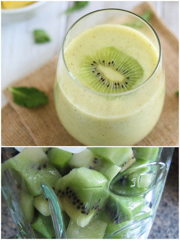 ... | Kiwis for Glowing Skin: Kiwi Smoothie Recipes | skin nutrition