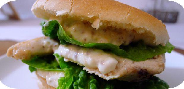 Chicken & Caesar's-Salad-Burger | Recipes | Pinterest