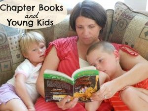 Why should you read chapter books with young kids?  (cause it's awesome.)