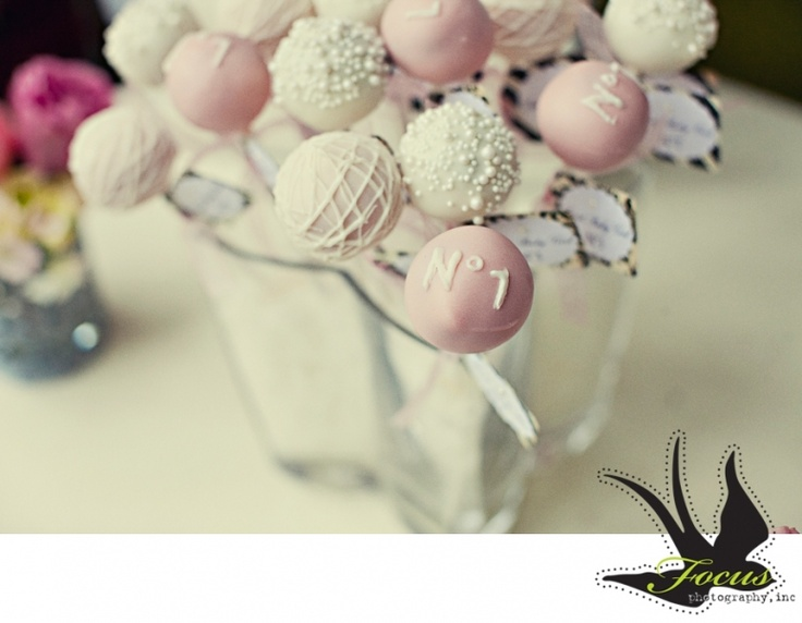 bubbly cake pops | Baby shower | Pinterest