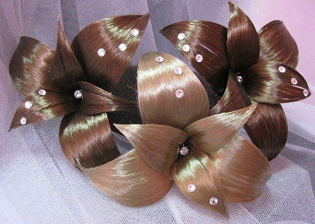 Как сделать красивую заколку из волос